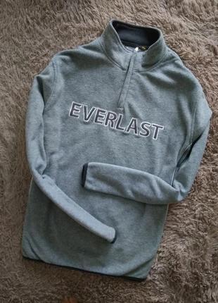 Теплий, флисовий свитер от everlast. размер l.