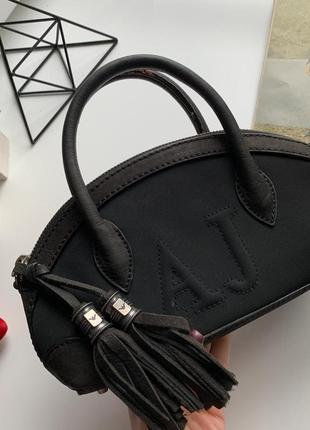 👜чудесная чёрная оригинальная сумка armani/серная сумка винтаж/маленькая сумка👜