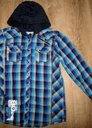 Стильная рубашка для подростка