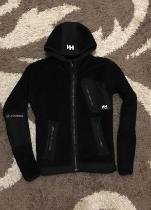 Тепла кофта куртка з капішоном і карманами фліс