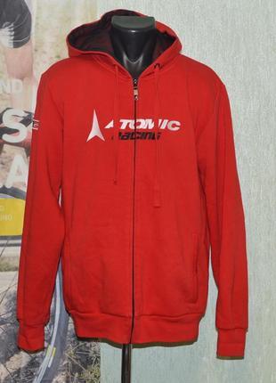 Реглан, худи, толстовка atomic racing d2 hoodie ski casual