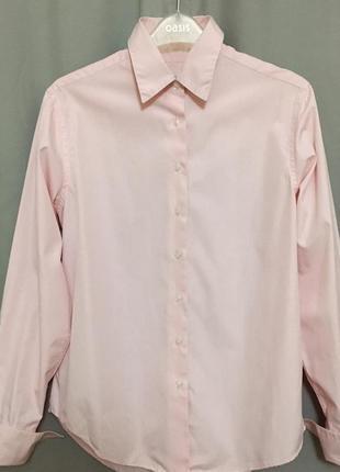 Рубашка под запонки marks & spencer