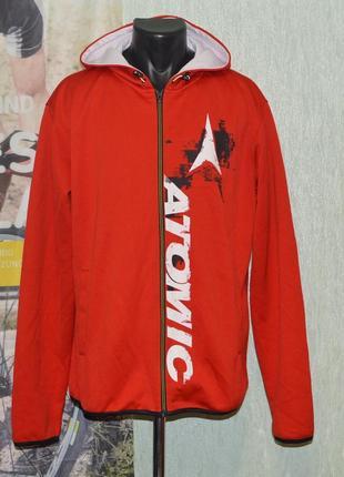 Реглан, худи atomic redster hoodie ski casual