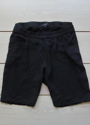 Свободные шорты с жатой ткани