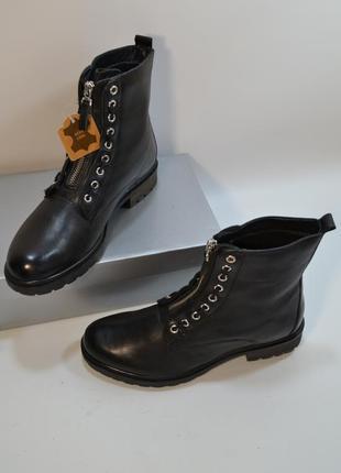 Шикарные кожаные ботинки от 5th avenue натур.кожа 1000 пар тут!