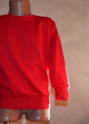 Новый свитер свитшот 3-4 года рост 104 унисекс