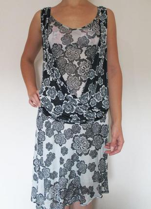 Женское летнее платье сарафан французского бренда kookai, м, сток европа