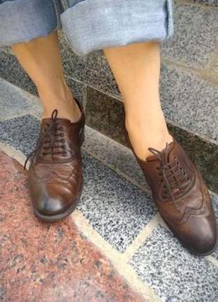 Туфли оксфорды 40