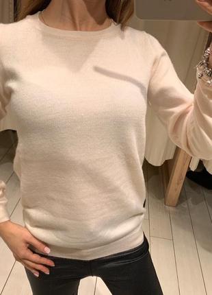 Пудровый свитер пуловер кофта house есть размеры