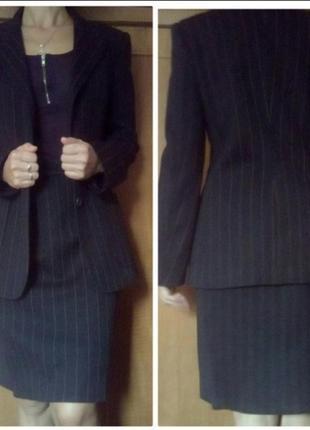 Деловой итальянский костюм alberto biani