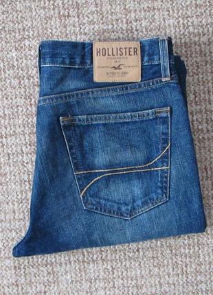 Hollister джинсы slim straight оригинал (w34 l32)