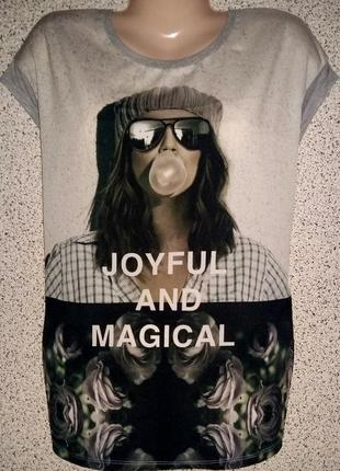Эксклюзивная футболка туника от бренда only