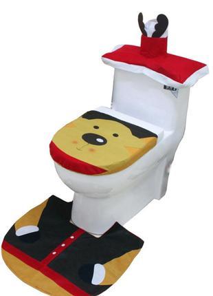 Новогодний набор для туалета олень