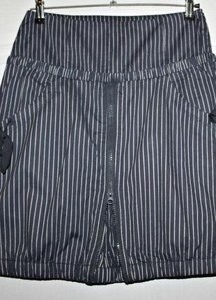 Стильная котоновая юбка