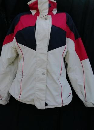 Лыжная ,мембранная теплая куртка