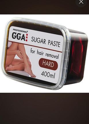 Паста для шугаринга жесткая gga professional sugar paste hard