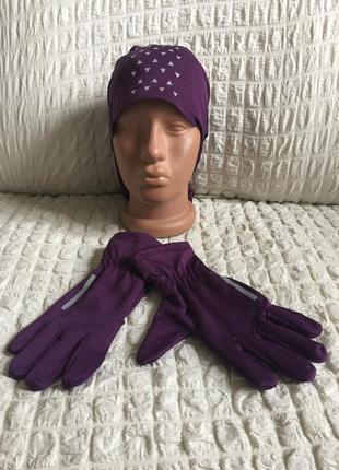 Сенсорные перчатки +многофункциональный снуд