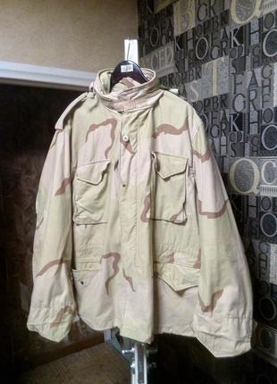 M 65 3 color desert куртка милитари тактическая cша us