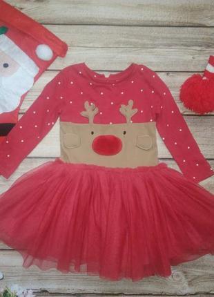 Новогоднее платье некст