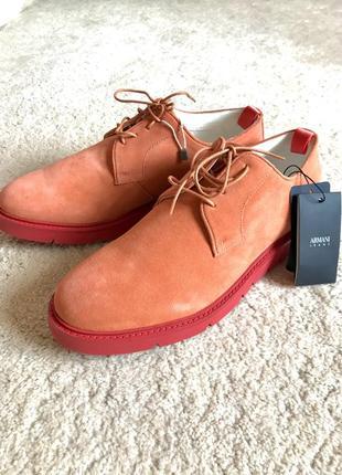 Шикарные туфли armani, италия