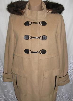 Новое пальто dorothy perkins полиэстер вискоза l 50-52 c4n