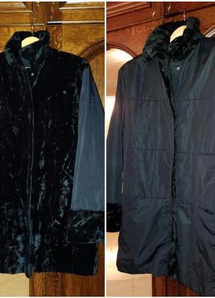 Bassler  куртка пальто на 2 стороны 16-18 р