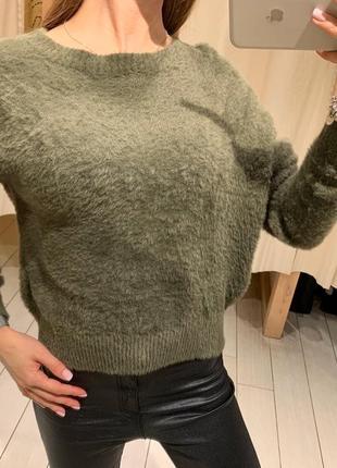 Мягенький плюшевый свитер свитер house есть размеры