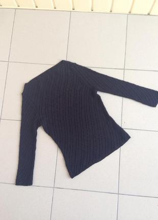 Полупрозрачная блуза кофта свитер свитшот вязаная сетка
