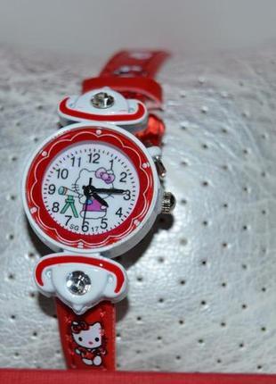 Часы часики годинник с китти