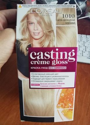 Краска для волос casting 10.10