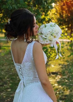 Стильное свадебное платье! коллекция осень 2019.