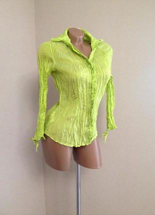 Блуза,рубашка, жабо,по фигуре, классическая , офисная, оригинал от /mng ( сток)