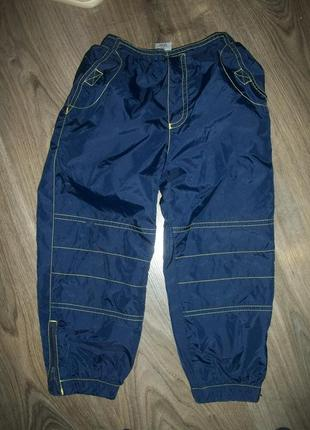 Водо-ветро непроницаемые брюки деми  на 3-4 года designed for tesco дизайнид фор теско