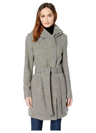 Пальто с капюшоном оригинал calvin klein
