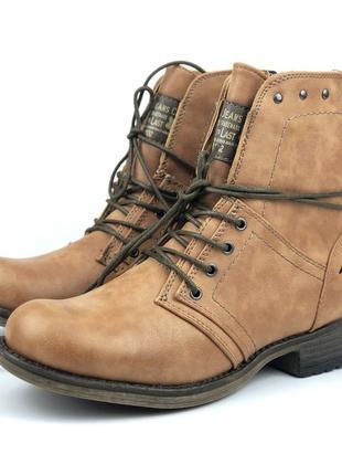 Зимние ботинки девочке mustang (испания)