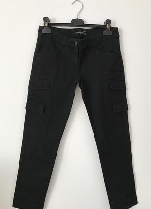 Штаны з карманами карго
