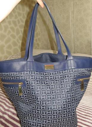 Женская сумка-шоппер фирмы tommy hilfiger, оригинал