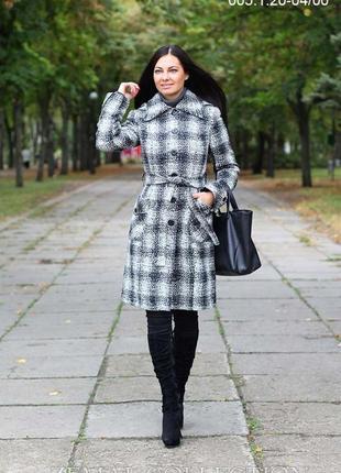 Пальто зимнее zemal с шерстью, р. 44-46. отличное состояние!