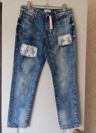 Стильные джинсы на девочку 11-12 лет ovs