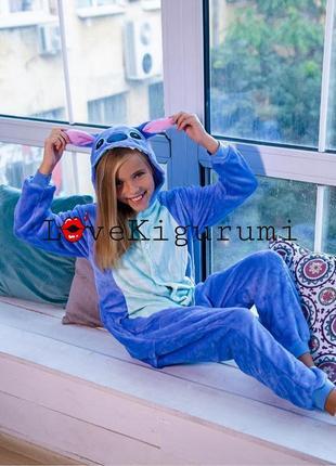 ❗оригинал без предоплат❗ пижамы кигуруми стич лучшее качество