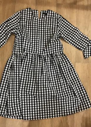 Платье в клетку
