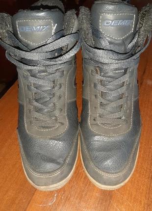 Сникерсы ботинки зима