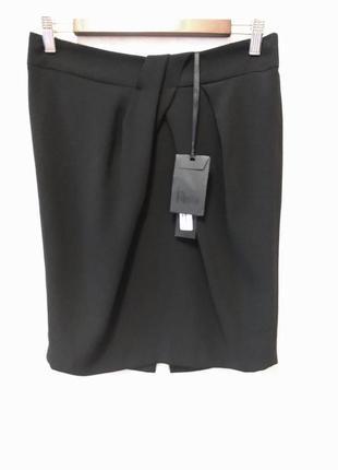 Чёрная юбка миди hanita, италия