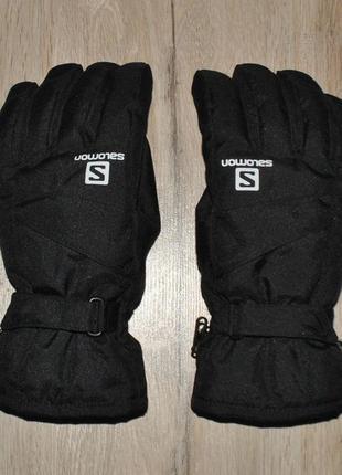 Перчатки salomon gore-tex
