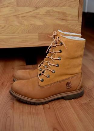 Timberland ботинки рыжие сапоги оригинал
