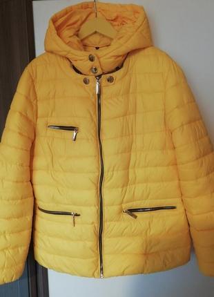 Куртка трансформер жёлтая мембрана