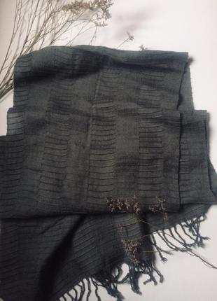 Брендовый кашемировый  шарф/палантин guess 😍🖤