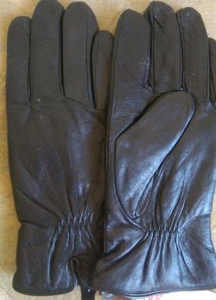 Чоловічі шкіряні перчатки monlolan, утеплені