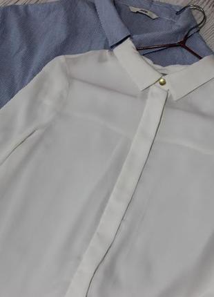 Крутая белая блузка