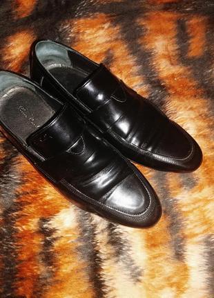 Мужские кожаные туфли pierre cardin оригинал